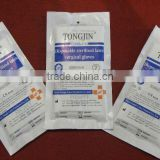 latex surgical gloves single use