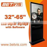 Full HD Advertising Digital Signage Samsung/LG TFT LCD / LED Panel Screen Display/22--85 inch