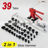 Heavy Duty Paintless Hail Repair PDR Dent Slide Hammer Puller Ding Removal Tools Kit PDR-236