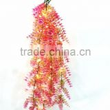 2016 Christmas new product popular artificial lighting ivy plastic foliage with led light