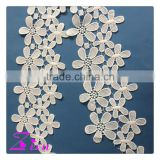 wholesale fashion african french lace fabric/water soluble lace fabric/ chemical lace                                                                                                         Supplier's Choice