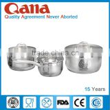 New design high quality stainless steel elegant cookware set                                                                                                         Supplier's Choice