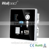 Hot Sales Wallpad Black Wall Embedded USB Socket Wireless AP Router Repeater Phone WPS Wall Charger USB Charging 3G WiFi Socket                                                                         Quality Choice