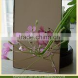 bronze tinted mirror glass double coated with italy fenzi paint