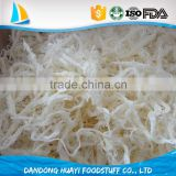 frozen fresh cooked shredded squid