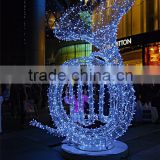 Outdoor Festival 3d Led Motif Light Decoration For Building Wall Decoration Wchristmas Motif Lights For Wall Decoration