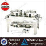 Commercial Soup Station Hot Food Buffet Chafing Dish Food Warmer