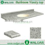 Serviceable bathroom vanity top grey granite vanity top                                                                                                         Supplier's Choice