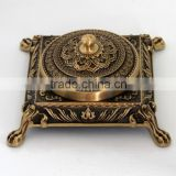antique brass ashtray/square metal ashtray china manufacturer                                                                         Quality Choice