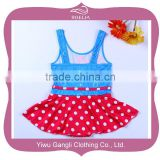 Children bikini swimwear kids swimwear mini skirts