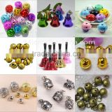Fashion free sample promotional bell christmas jingle brass bell in stock