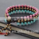 2016 Woman stretchy Bracelet Agate Reiki energy bracelet for ladies Fashion Stone bracelets                                                                                                         Supplier's Choice