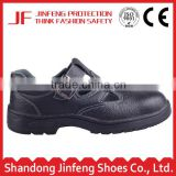 black leather rubber sole summer sandal safety shoes safety footwear acid resistant industrial safety work shoes