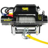 Portable size galvanized wire rope industrial winch NVT10000-S(10000lbs) 12/24V