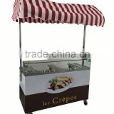 New Style Gas mobile Crepe Cart
