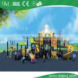 residental villa leisure equipment multifunctional spiral slide playground with climbing sets