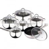 12pcs stainless steel set non-stick portable electric food warmers