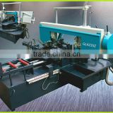 Horizontal angle cut miter band saw