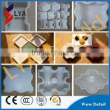 China Wholesale Price Plastic Shapes Moulds For Producing Concrete Tiles Blocks Garden Park Road Pathway Paving Stone Sizes