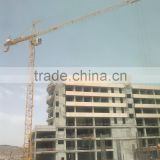 12ton,70m Jib,tip load is 3ton QTZ250(7032) Topkit Tower Crane, crane with factory price