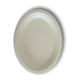 JUST disposable compostable tableware Oval Plate 9