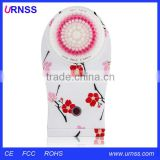 China supplier silicone face washing brush, face cleaning brush and exfoliating body brush
