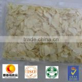 2015 new crop factory supplier no mould high purity nuisanceless chinese dehytrated garlic flake with root or without root