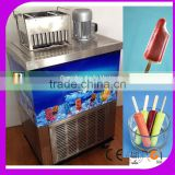 hot sale single moldes popsicle machine used ice pop with Imported Compressor