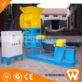 2017 Hot selling Strongwin Aquatic fish feed manufacturing machinery extruders for fish food