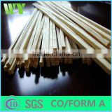 WY-CC170 2016 cheap price high quality bamboo sticks for incense/agarbatti bamboo stick /bamboo round stick
