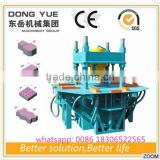 zigzag paver block mould paving molds making machine
