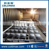 Containerized block ice plant,used block ice maker for sale 20t/day