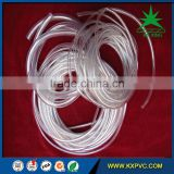 transparent flexible plastic pvc clear braided hose tube