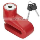 motorcycle disc brake alarm lock