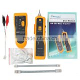 JW-360 Cable Tester for UTP STP Cat5 Cat6 RJ45 LAN Network RJ11 Telephone Wire Tracker Diagnose Tone Tracer Line Finder