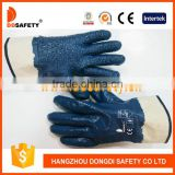 DDSAFETY 2017 Cheap Nbr Glove With Rough Chip Finished