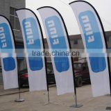 Factory direct Promotional Advertising Beach Flag