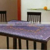 2014 Designed Printed PVC table cover cloth with falannel back , Direct factory/Manufactory supply/industrial