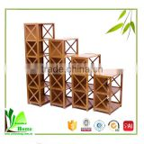 Private Bamboo Book Shelf with Locker