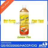 Best Flavor 500ml Lemon Tea Drink in PET