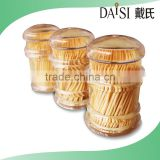 China supplier Bamboo fancy toothpicks personalized toothpicks