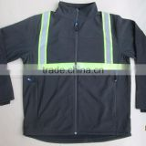 high quality Protective Clothing Work Wear Jacket 3m Reflective clothing softshell Jacket Hi Vis Jacket