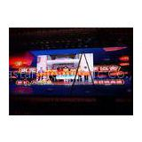 Ultra Thin Mesh Curtain LED Display Full Color , P10 LED Screen