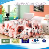 150*200cm Soft Cartoon Boys&Girls Bike Printing Coral Fleece Bedding Blanket/Bedding Sheets