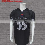 FREE SAMPLE short sleeve mens American football shirt with high quality