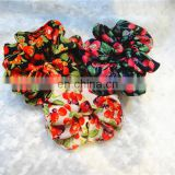 New Flower Print Elastic Band Hairband Hair Accessories