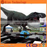 Fiberglass life size dinosaur statues for large outdoor statues