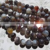 Botswana agate 10mm round beads/Natural Agate Gemstone Beads Necklace/Natural gemstone beads suppliers/Cheap gemstone beads
