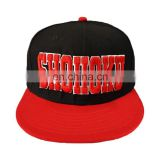 Wholesale Hot Selling 3D Embroidery Custom Promotional Flat Brim Baseball cap