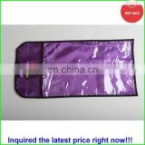 custom packaging extension silk satin hair bag/hair garment bags